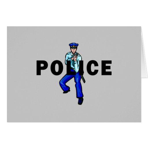 Acción policial felicitaciones