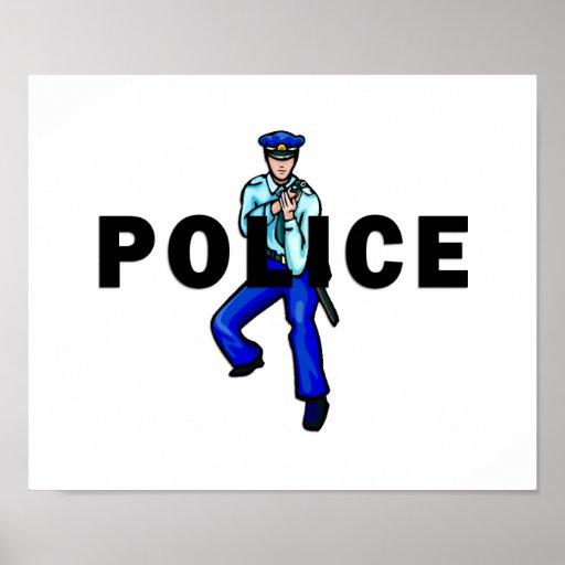 Acción policial posters
