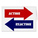 Acción-Reacción Felicitaciones