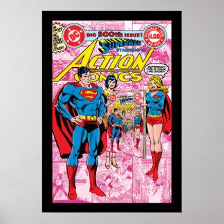 Acción tebeos #500 octubre de 1979 póster