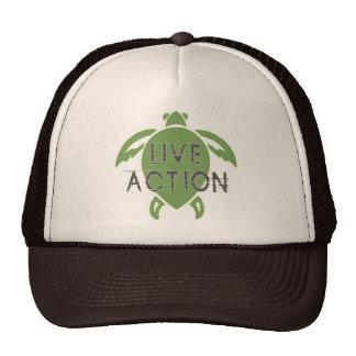 Acción viva gorras de camionero