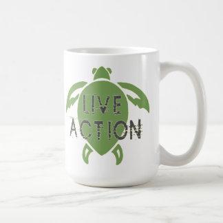Acción viva taza