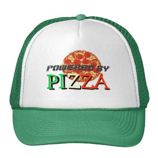 Accionado por cita divertida de la pizza gorro