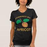 Accionado por el albaricoque camiseta