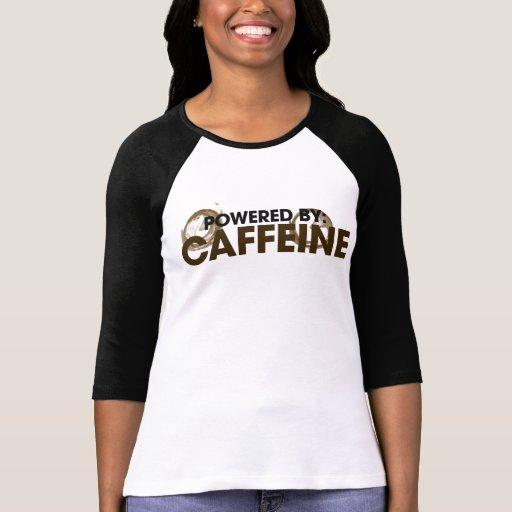 Accionado por el cafeína camisas