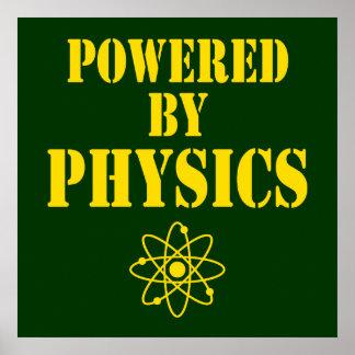 Accionado por el poster de la física