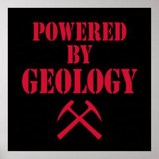 Accionado por el poster de la geología
