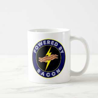 Accionado por el tocino taza de café