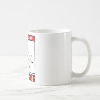 Accionado por la glucosa taza de café