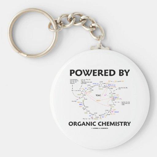 Accionado por la química orgánica (ciclo de Krebs) Llavero