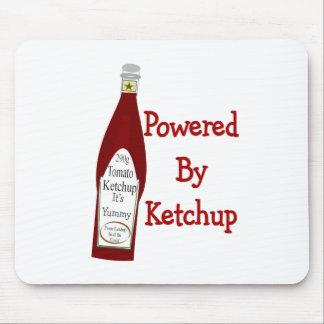Accionado por la salsa de tomate tapete de ratones