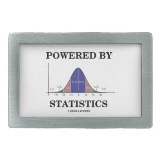 Accionado por las estadísticas (humor de la curva  hebilla cinturón