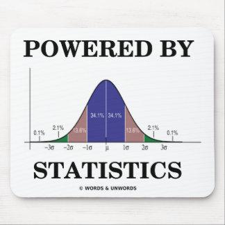 Accionado por las estadísticas humor del Stats Alfombrillas De Ratones