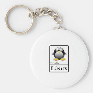 Accionado por Linux Llavero Redondo Tipo Pin