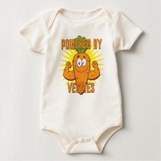 Accionado por los Veggies Mameluco De Bebé