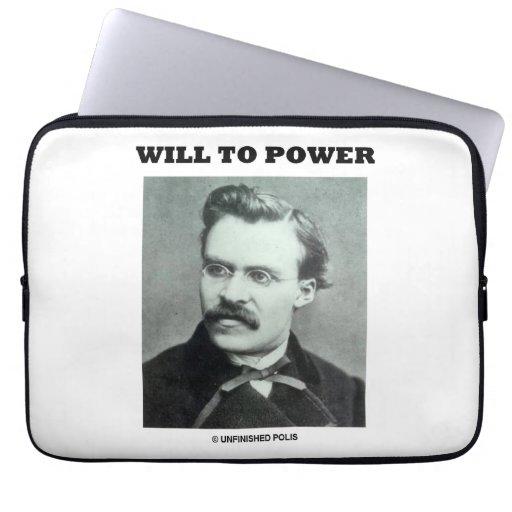 Accionará (Friedrich Nietzsche) Funda Ordendadores