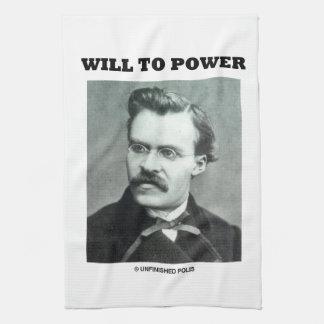 Accionará (Friedrich Nietzsche) Toalla
