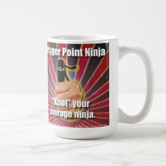 """Accione el ® """"nudo"""" de Ninja del punto su Ninja Taza"""