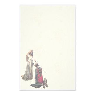 Accolade by Edmund Blair Leighton Stationery