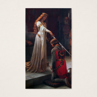 Accolade - Edmund Blair Leighton Business Card