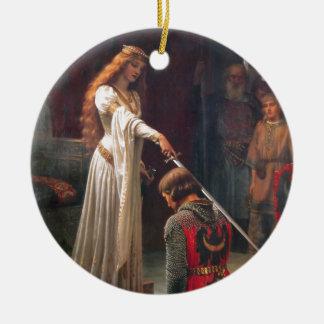 Accolade [Edmund Blair Leighton] Ornaments