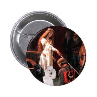Accolade - Poodle TWO Standard Button