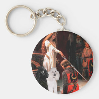 Accolade - Poodle (TWO Standard) Keychain