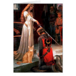 Accolade - Red Abyssinian Card