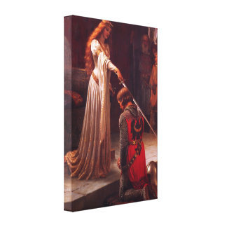 Accolade - The Knight Canvas Print