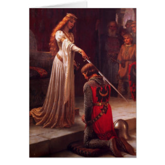 Accolade - The Knight Greeting Card