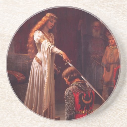 Accolade - The Knight Drink Coasters