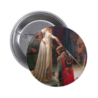 Accolade - The Knight Pinback Button