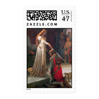 Accolade-The Knight Postage Stamp