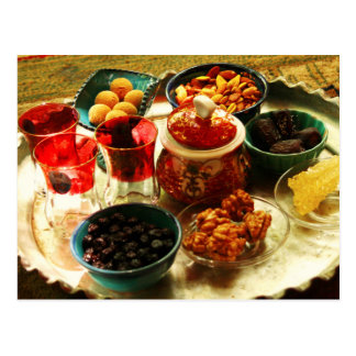 Accompaniments for Iranian tea Postcard