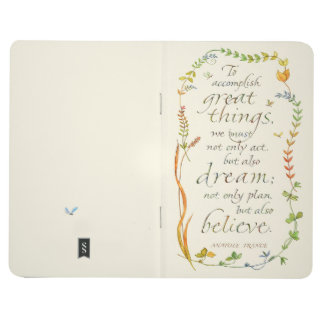 Accomplish Great Things Journal