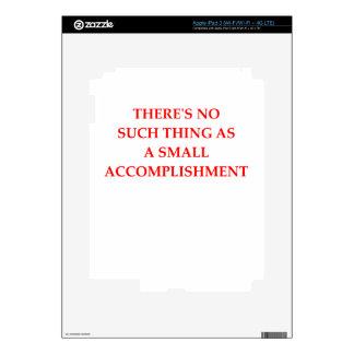ACCOMPLISH iPad 3 DECALS