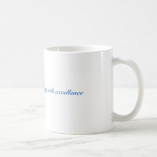 Accomplish with excellence mug