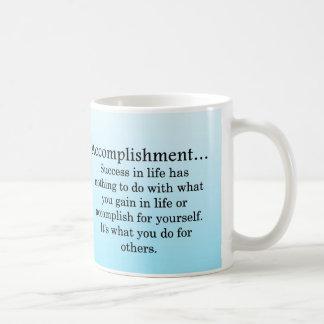 Accomplishment Coffee Mug