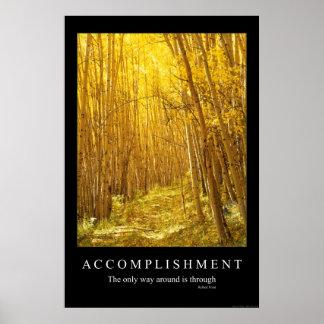 Accomplishment Poster