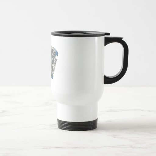accordian azul taza de café