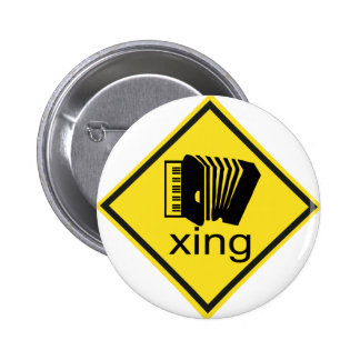 Accordian Crossing Xing Traffic Sign Buttons