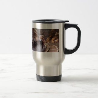 Accordian - el individuo y la caja de apretón taza de café