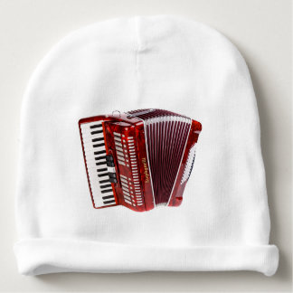 ACCORDIAN MUSICAL INSTRUMENT BABY BEANIE