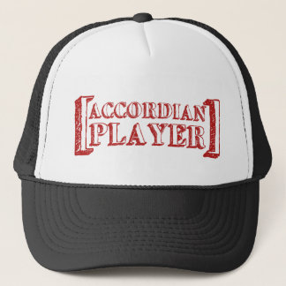 Accordian  Player Trucker Hat