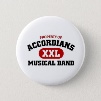 Accordians Musical Band Pinback Button