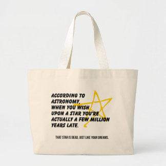 According to Astronomy Tote Bag
