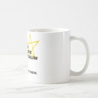 According to Astronomy Classic White Coffee Mug