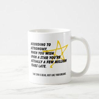 According to Astronomy Coffee Mug