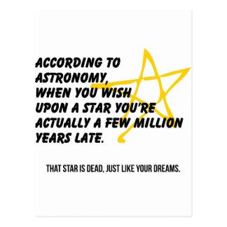 According to Astronomy Postcard