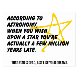 According to Astronomy Post Cards